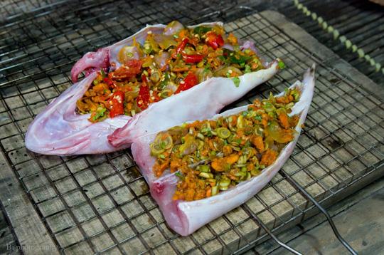 Ngày lạnh, lai rai cá chai nướng ngũ vị thơm lừng - 3