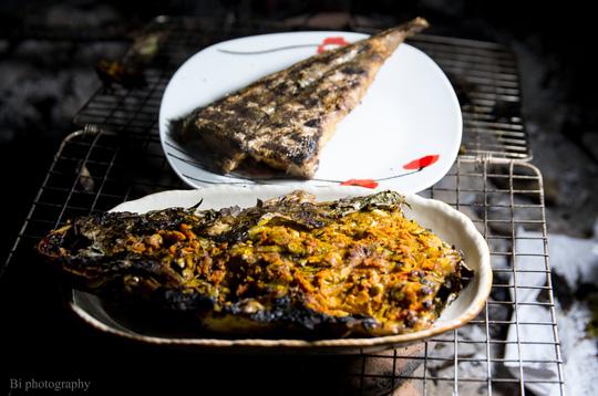 Ngày lạnh, lai rai cá chai nướng ngũ vị thơm lừng - 7