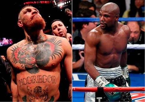 Lại cãi vã trận trăm triệu đô Mayweather - McGregor - 4