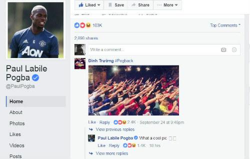 MU bất ngờ chúc mừng fan Việt ngày lễ Tình nhân - 2
