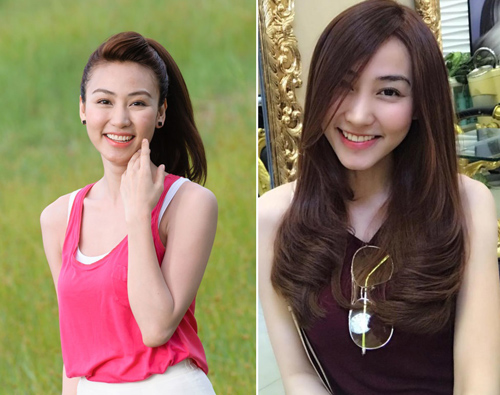 """5 """"nàng tiên"""" của Hoài Linh thay đổi chóng mặt sau 4 năm - 3"""