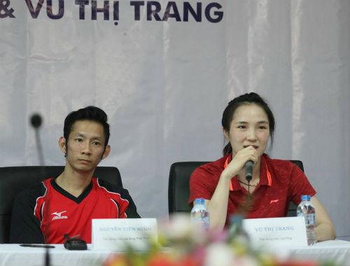 Cầu lông châu Á: Vợ chồng Tiến Minh khổ chiến Thái Lan - 1