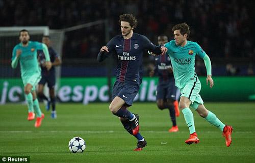 Chùm ảnh đại chiến PSG - Barca: Pressing đỉnh cao - 1