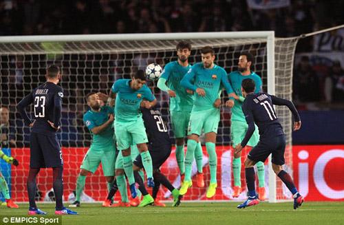 Chùm ảnh đại chiến PSG - Barca: Pressing đỉnh cao - 2
