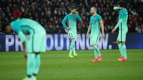 Thua thảm, Barca cay đắng chạm vào những kỷ lục tồi tệ - 1