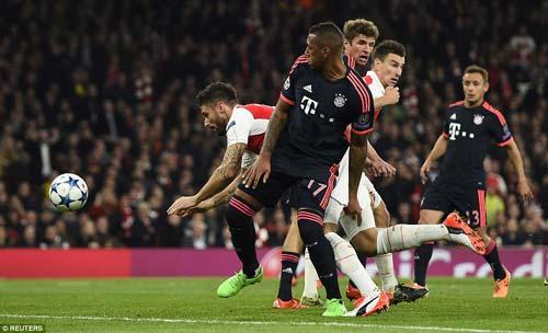 """Bayern – Arsenal: Ngán gì không vuốt râu """"Hùm"""" - 1"""