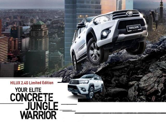 Toyota Hilux 2.4G Limited Edition nổi bật với ngoại hình mạnh mẽ - 1