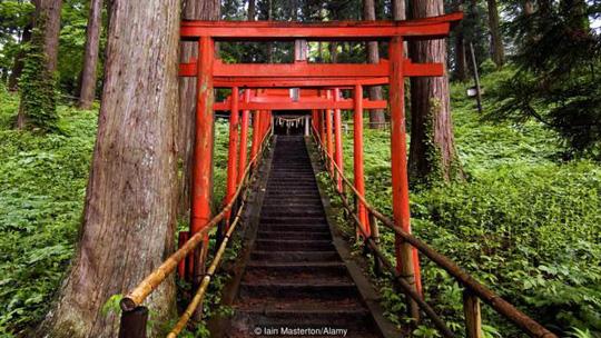 Lạc giữa ngôi làng thần tiên ở Nhật Bản - 3