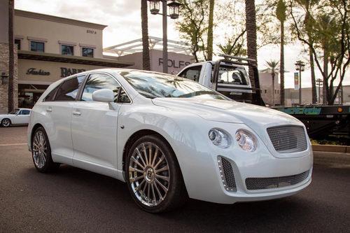 Xe siêu sang Bentley cải tiến từ... Toyota Venza - 1