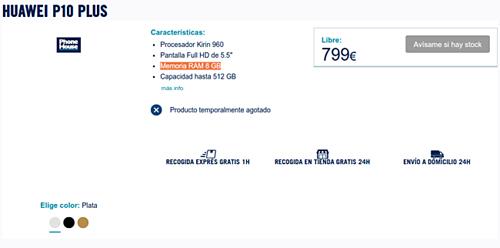 Lộ Huawei P10 Plus dùng RAM 8GB, giá cao hơn iPhone 7 Plus - 1