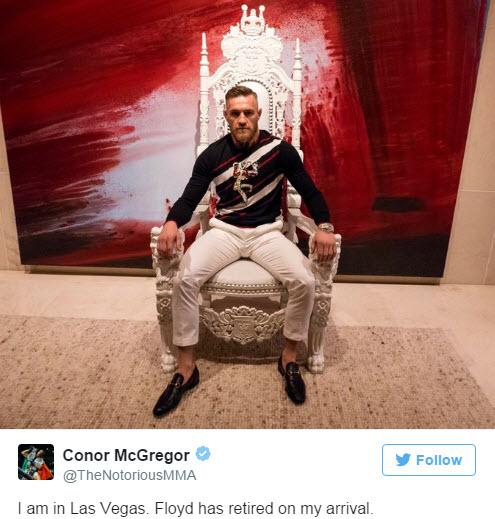 Lại cãi vã trận trăm triệu đô Mayweather - McGregor - 2