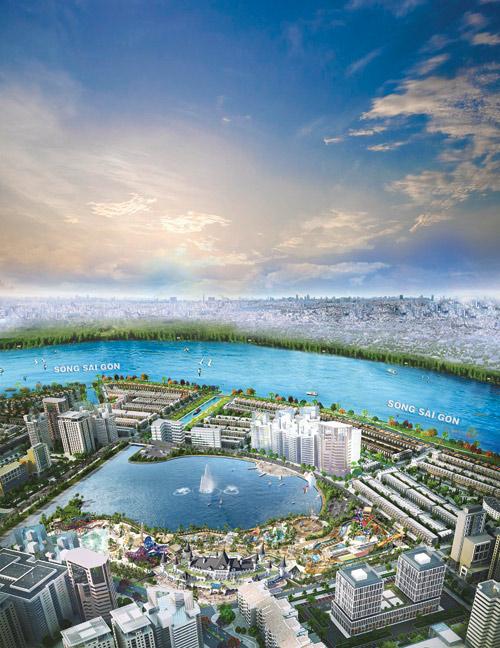 TP.HCM sắp xuất hiện công viên giải trí tầm cỡ Đông Nam Á - 2