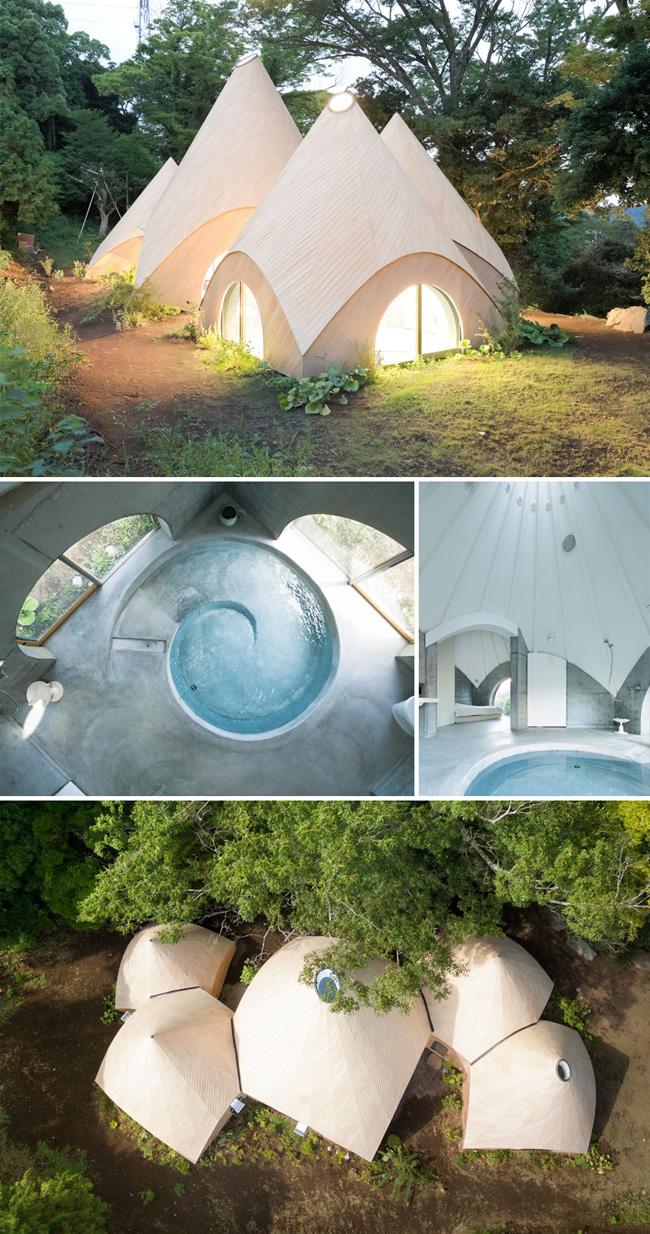 Ngôi nhà giữa rừng như bước ra từ cổ tích, thiết kế dành riêng cho 2 phụ nữ đã nghỉ hưu. Bốn bề đều là rừng cây yên bình, trong nhà có sẵn bể bơi nhỏ, đây quả là ngôi nhà mơ ước của bất cứ ai.