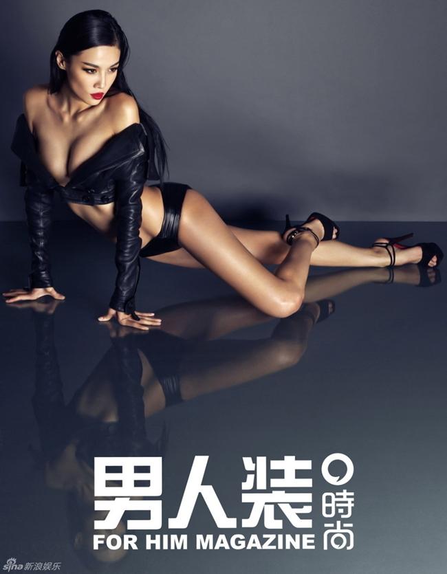 Trương Lam Tâm được khán giả biết tới là mỹ nữ phim hành động Thành Long.