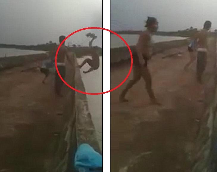Thiếu niên Brazil chết thảm vì nhảy cầu xuống sông - 1