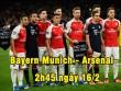 """Bayern Munich – Arsenal: Ngán gì không vuốt râu """"Hùm"""""""