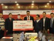 """Lần đầu có người Hà Nội lãnh jackpot """"khủng"""": Hơn 31 tỉ"""