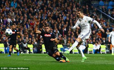 Chi tiết Real Madrid - Napoli: Đẳng cấp nhà vô địch (KT) - 4