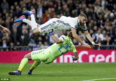 Chi tiết Real Madrid - Napoli: Đẳng cấp nhà vô địch (KT) - 5