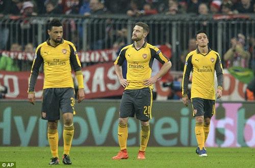 Arsenal thua thảm Bayern, Wenger không mong tha thứ - 1