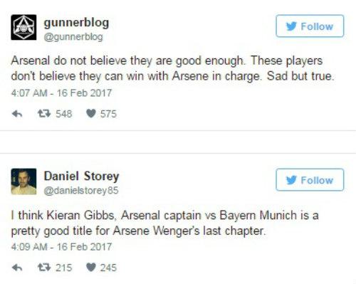 Arsenal thua thảm Bayern, Wenger không mong tha thứ - 5