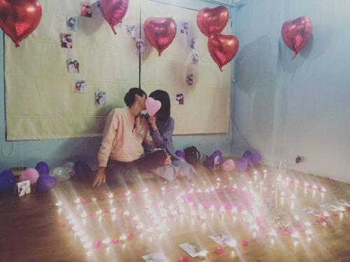 Màn tỏ tình siêu lãng mạn của cặp đôi 9X tại Hà Nội - 2