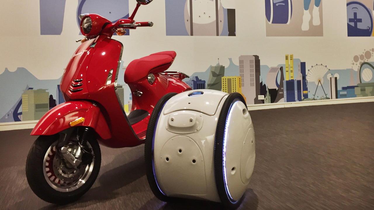 Piaggio giới thiệu xe tự hành Gita và Kilo - 1