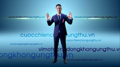 MC Phan Anh tiếp tục quay clip về sức khỏe ung thư - 5