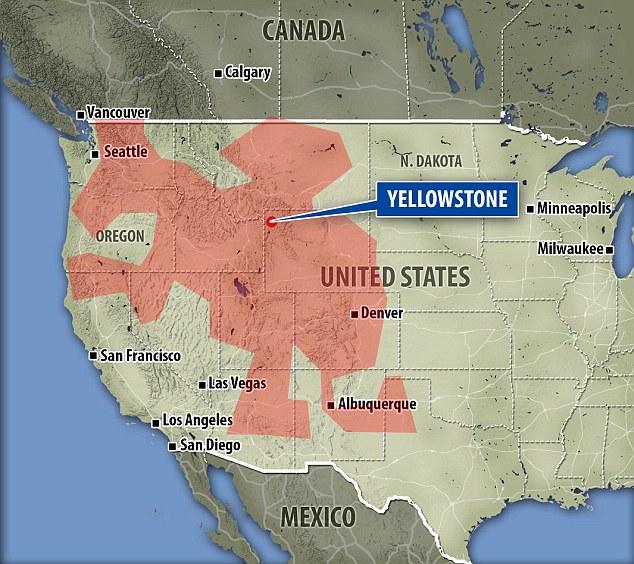 Phát hiện bể dung nham 1,8 triệu km2 trong lòng nước Mỹ - 2
