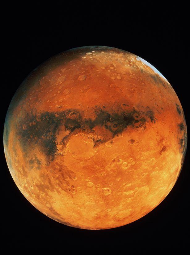 Rò rỉ tài liệu của CIA cho thấy kim tự tháp trên sao Hỏa? - 2
