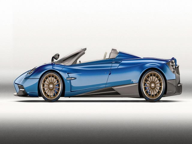 Pagani Huayra Roadster nhẹ hơn, mạnh hơn giá 54,6 tỷ đồng - 1