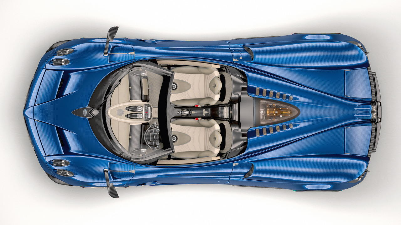 Pagani Huayra Roadster nhẹ hơn, mạnh hơn giá 54,6 tỷ đồng - 4