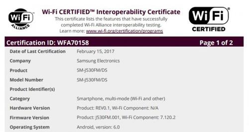 Samsung Galaxy J5 2017 rục rịch ra mắt - 1