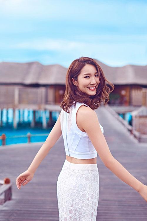 """""""Chú lùn TVB' khoe ảnh hạnh phúc cùng vợ hoa hậu đi du lịch - 3"""