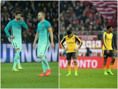 Thua 4 bàn vẫn thoát hiểm: Barca, Arsenal nên học Real - 1