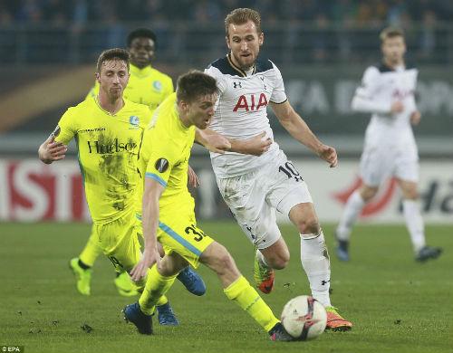 Gent - Tottenham: Cái tát đau điếng - 1