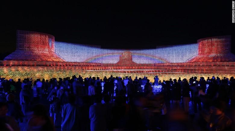 Choáng ngợp trước vẻ huyền ảo của lễ hội ánh sáng ở Nhật - 2