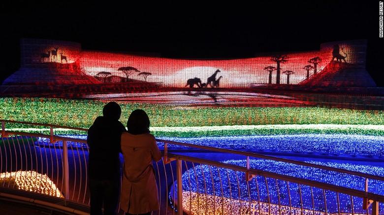 Choáng ngợp trước vẻ huyền ảo của lễ hội ánh sáng ở Nhật - 7