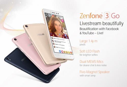 Asus Zenfone 3 Go giá rẻ lộ diện - 1