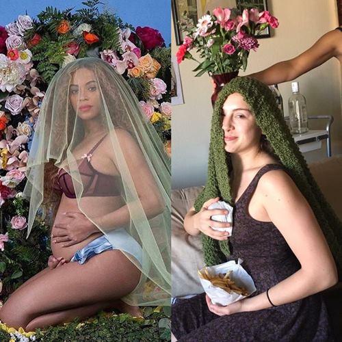"""Hình gốc của Beyonce bị các """"thánh"""" cosplay đến thế này đây - 2"""