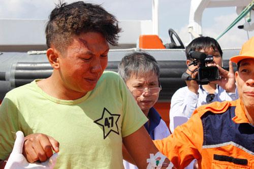 Tàu cá nổ trên biển Vũng Tàu: 9 người trong gia đình gặp nạn - 6