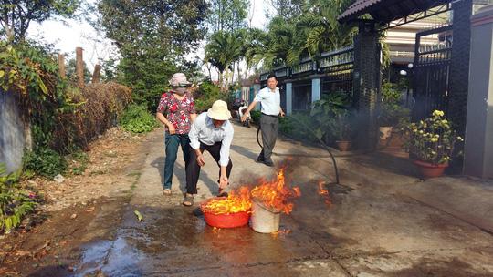 Hoang mang nước giếng bốc cháy ở Buôn Ma Thuột - 1