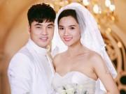 Vợ chồng Ưng Hoàng Phúc ngọt ngào diễn cảnh cưới