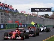 Lịch thi đấu F1: Australian GP 2017