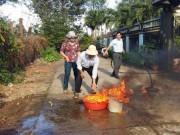 Tin tức trong ngày - Hoang mang nước giếng bốc cháy ở Buôn Ma Thuột