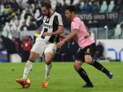 Juventus - Palermo: Đại tiệc 5 bàn thắng