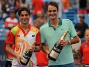 Thể lực của Federer khiến SAO tennis khâm phục