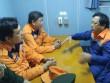 Cứu 8 thuyền viên bị sóng đánh chìm ngoài biển Vũng Tàu