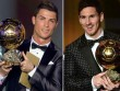 Đua Quả bóng Vàng 2017: Messi sớm đầu hàng Ronaldo