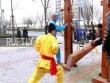 Xem môn phái Đũng quần sắt thúc gỗ vùng kín luyện kungfu